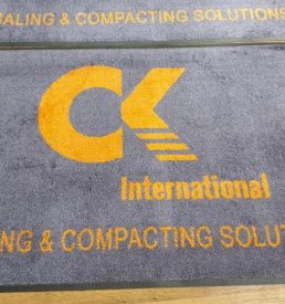 Logo Mat Printing